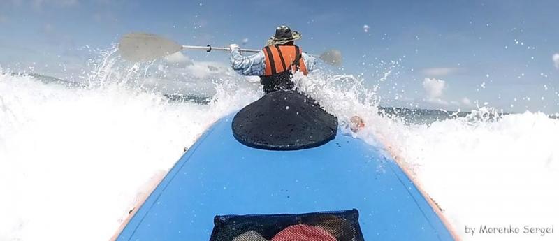Отчет Водный поход на байдарке Корон- Эль Нидо