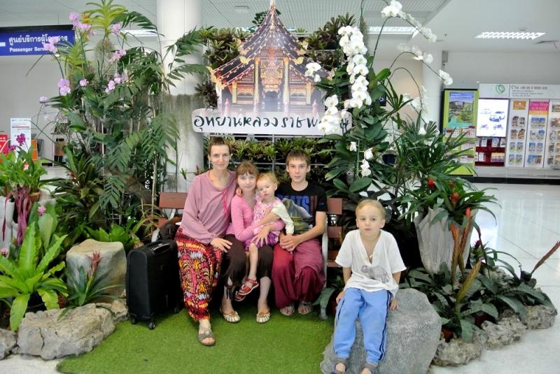 Таиланд с 4 детьми 2014. (Чианг Май, Чианг Дао, Пай, Мэхонгсон, Рейли и Краби)