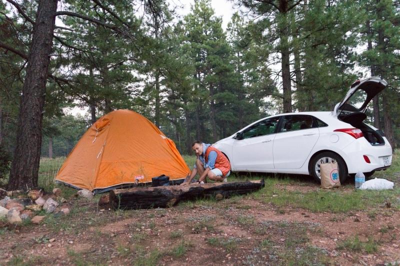 Запад США за 20 дней (август – сентябрь 2017г.) за 3500 $ / 200 тыс.руб (машина и палатка)