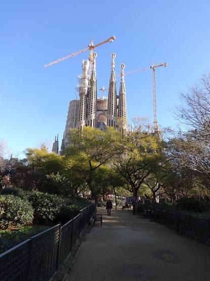 Барселона в конце января 2018