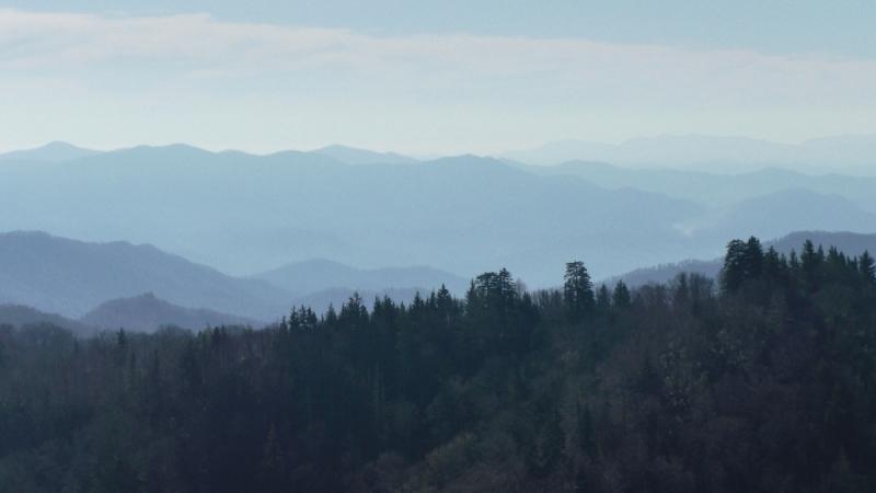 Smokey Mountains поздней осенью