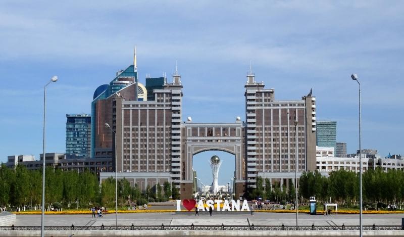 Астана - Водно-Зелёный бульвар 2016