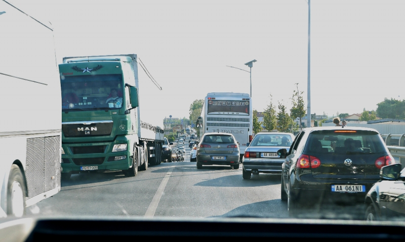 Албанский трип на автобусах