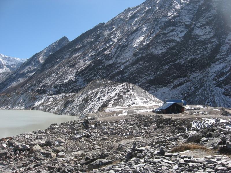 Из Ролвалинга в Кхумбу через Далдунг ла (3976) и Теси Лапча ла (5755)