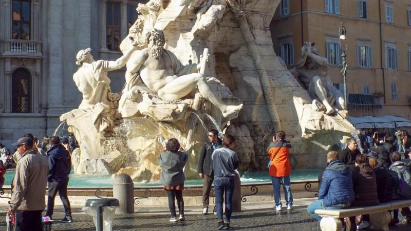 Рим на неделю зимой случайно