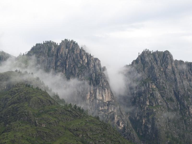 Чемал и его окрестности. Июль 2016