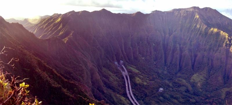 Гаваи. Оаху на велосипеде.