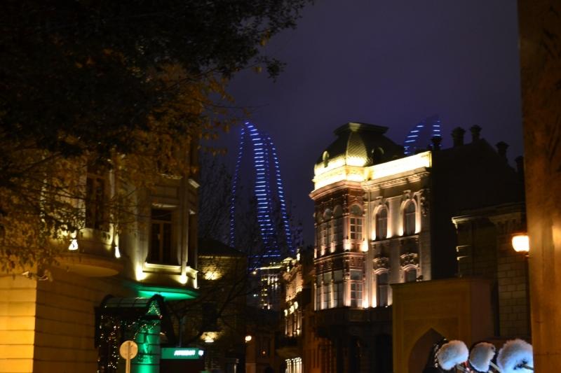 Азербайджан и встреча нового года 2018
