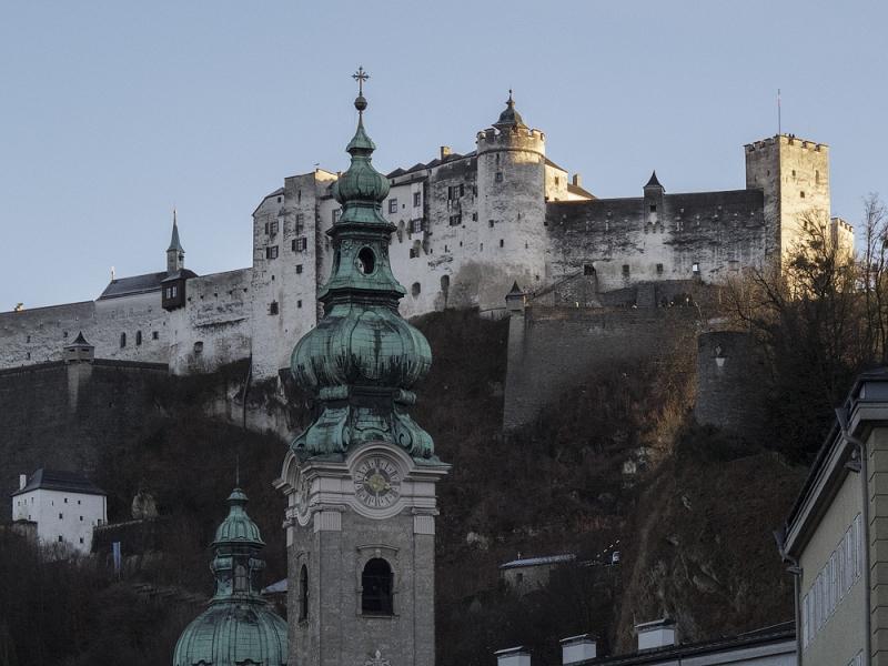 Зальцбург за 1 день из Мюнхена. Восторг и разочарования. Декабрь 2017