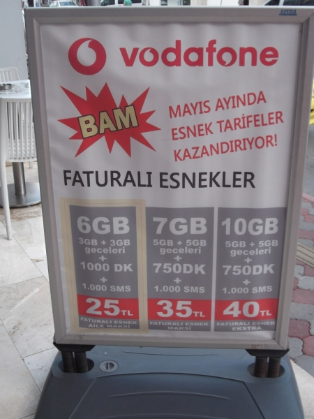 Турция: сотовая связь и мобильный интернет от А до Я