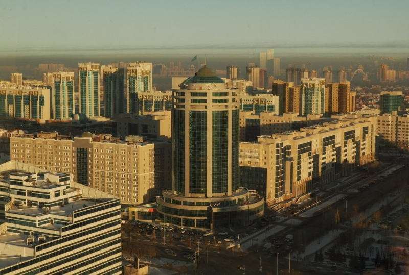 Зима-Астана (Январь 2018)