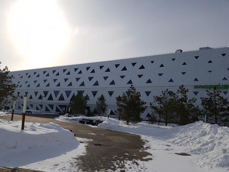 Казань и Иннополис за 2 дня. Март 2018.