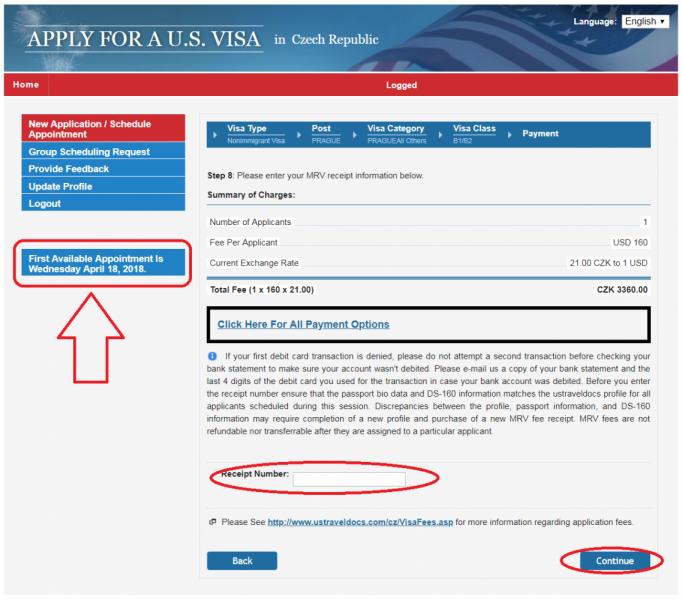 Виза в США в Праге - получение американской визы в Чехии