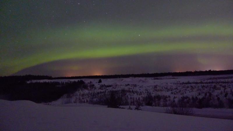 В Финляндию за Северным сиянием