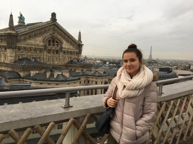 В Париж с детьми на весенние каникулы (март 2018)