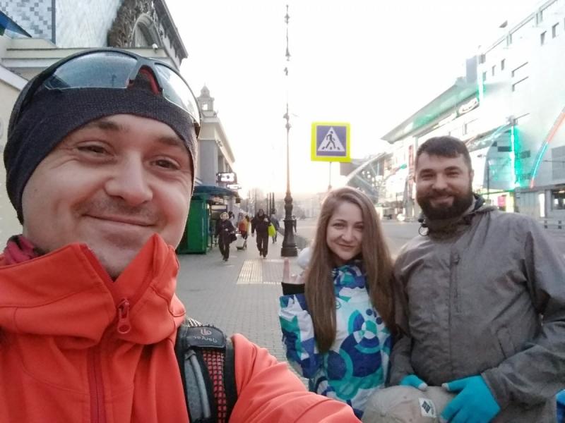 Ленивцы на велосипедах в майские праздники. Никола-Ленивец - Калуга. Апрель-май 2018.