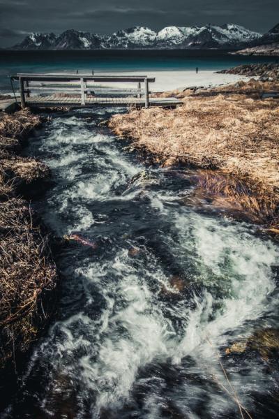 Заполярная Норвегия в мае
