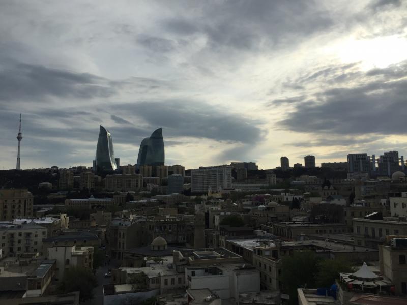 Баку, практический май 2018