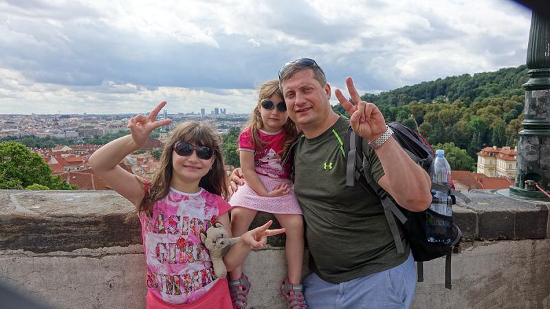 Семейное путешествие по Чешским просторам на автомобиле в июле 2017