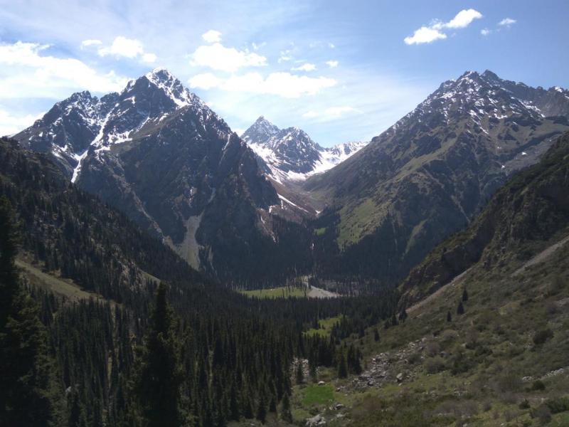 Киргизия – Казахстан – Узбекистан. Май-Июнь 2018