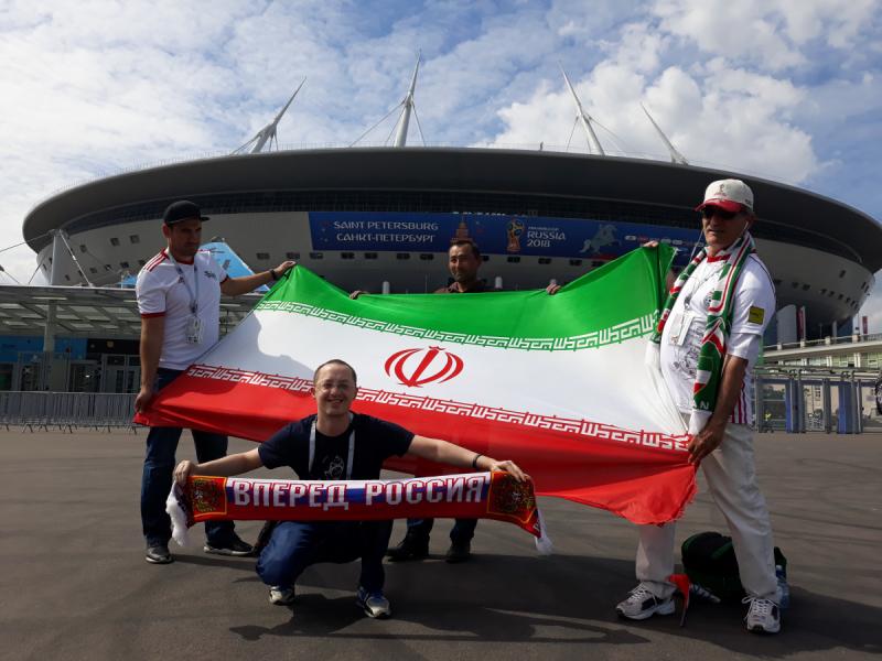 Чемпионат Мира по футболу 2018: Марокко-Иран, Санкт-Петербург