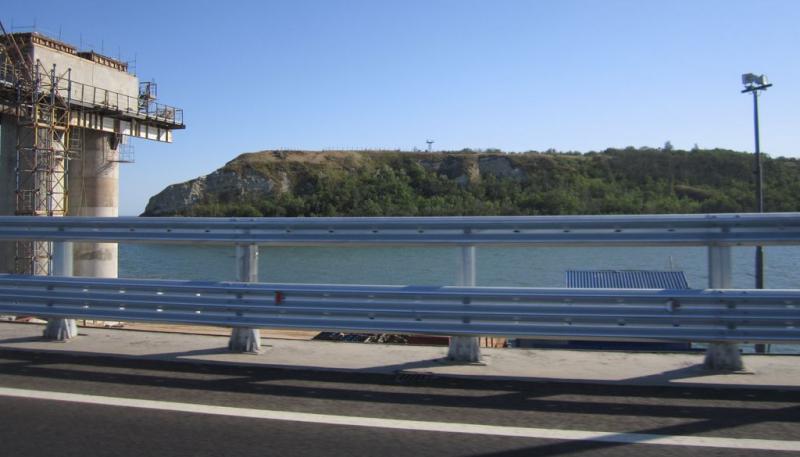 Крым через крымский мост, июнь 2018