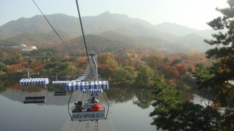 Сеул осенью 2017 года немного фото