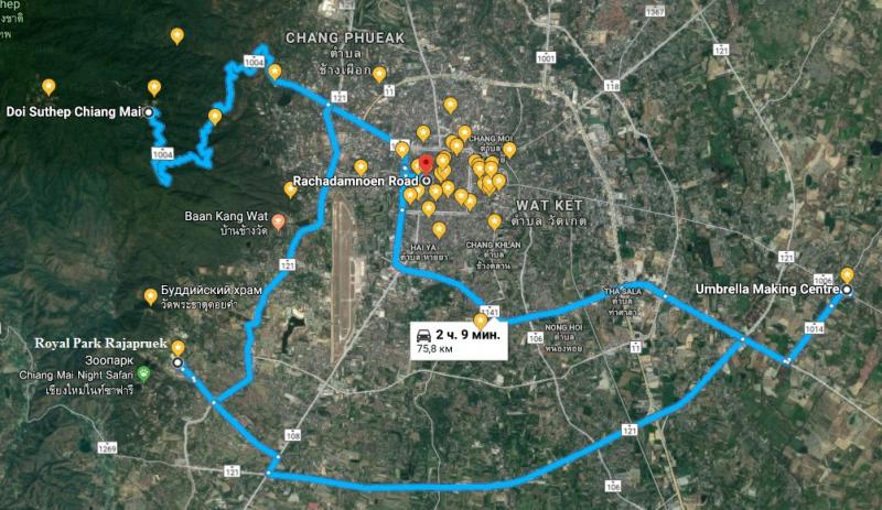 Пхукет – Чиангмай – Пхукет. 27.02-13.03.2018