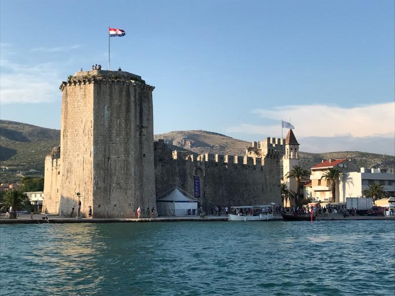 Первый опыт чартера в Хорватии