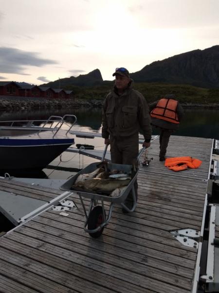 Первый раз в Норвегию.