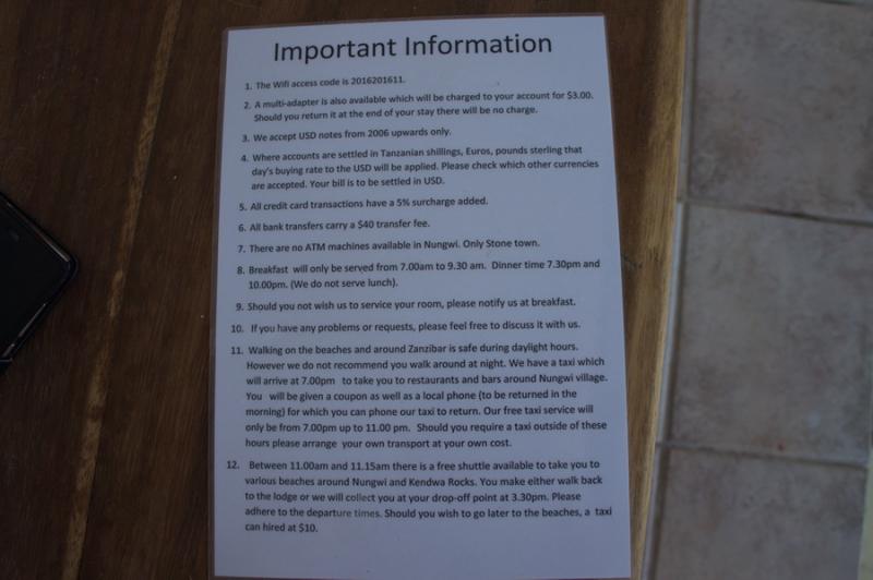 Отели Занзибара : выбор, бронирование, рекомендации