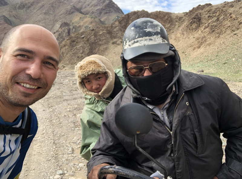 На мотоцикле в Монголию 2018