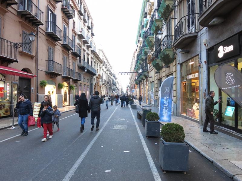 Палермо - город наизнанку. Март 2018.