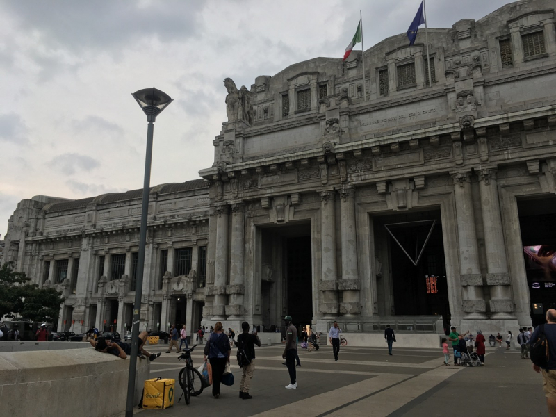 Италия и июль - вещи совместимые! Милан, Флоренция, Кьянчано Терме, Чинкве-Терре, Турин