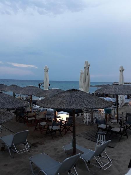 О пляже в Неа-Калликратии