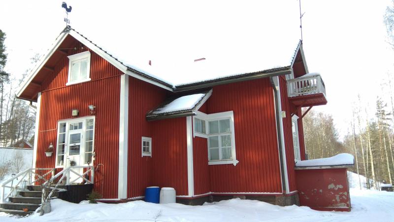 Финляндия, лыжи, сауна....хорошо ) Март 2018
