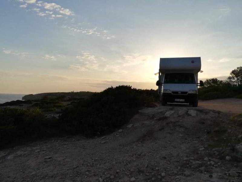 На автодоме по Португалии июнь 2018