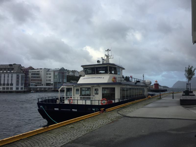 По Норвегии на общественном транспорте (сентябрь 2018)