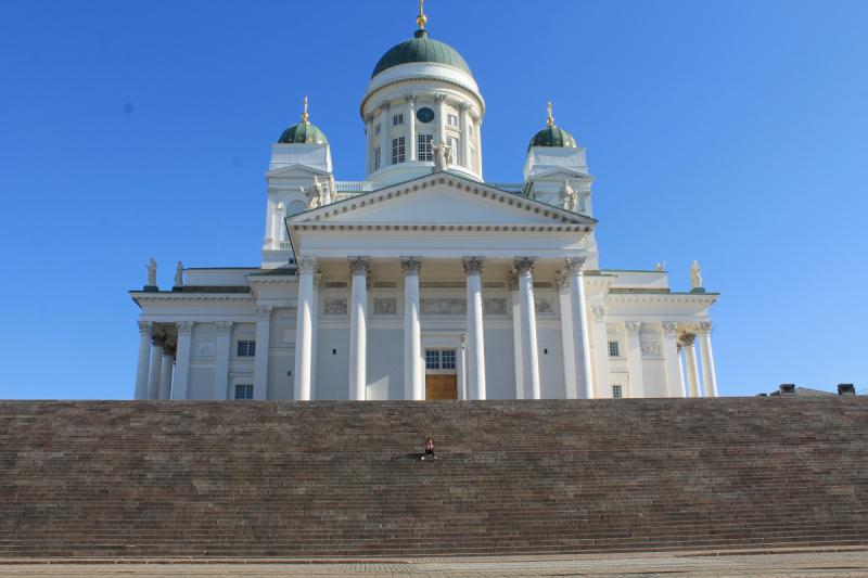 Хельсинки - длинная пересадка
