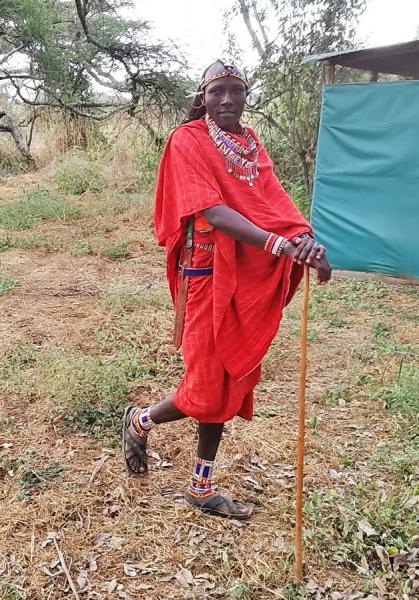 Кения, наше первое африканское сафари.