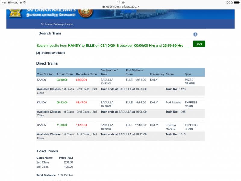 Летим в декабре в Шри-Ланку на 15 дней! Прошу критики и советов!))