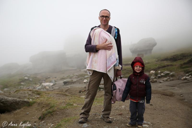 Румыния – скачки во времени на машине с двумя детьми