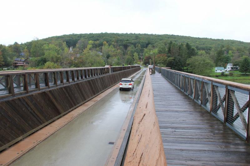 Пенсильвания провинциальная: Амиши, Bushkill Falls, Upper Delaware Scenic Byway, Ricketts Glen SP, Penn's Cave. Октябрь 2018.