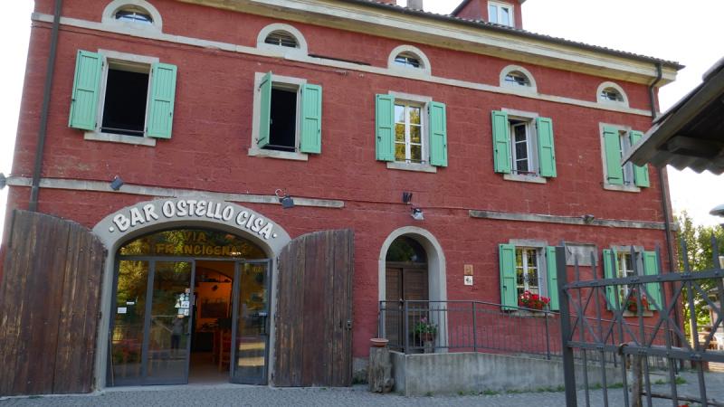 Via Francigena from Fornovo di Taro to Siena