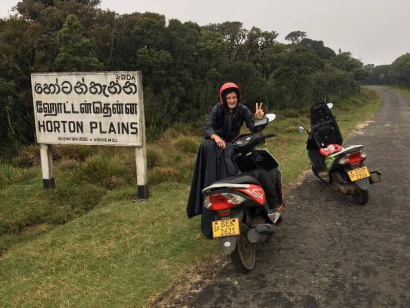 1000 км на байках и две недели по острову.