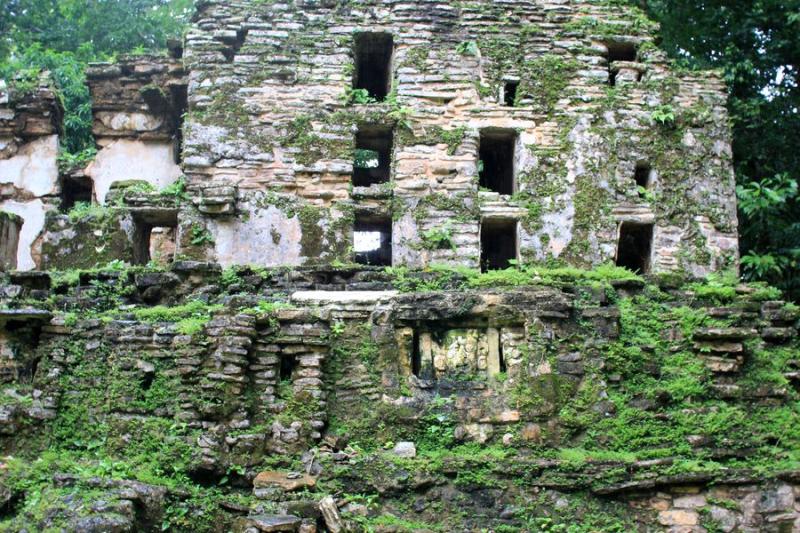 Заброшенные города Майя (Яшчилан и Педрос Негрос)