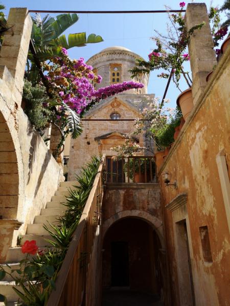 Греция, Крит, первая поездка в Европу