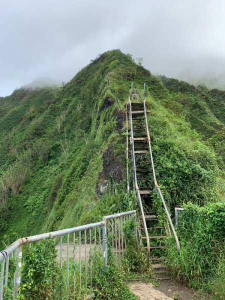 Легальный путь к Stairway to Heaven, Оаху октябрь 2018