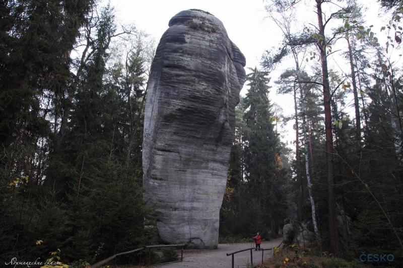 Скальные горы Чехии. Ноябрь 2018 (фототчёт)