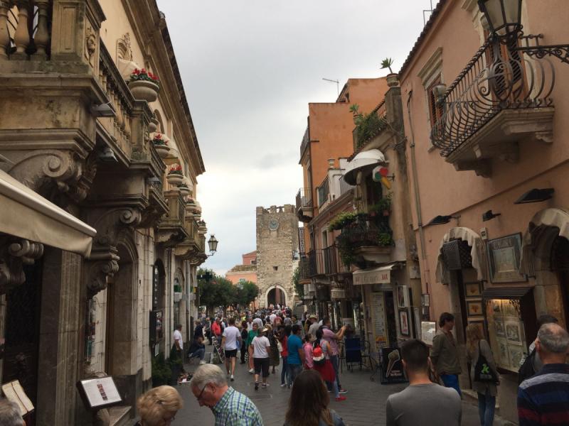 Сицилия в октябре (Палермо, Чефалу, Таормина, Агридженто)